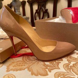 Christian Louboutin  Corneille 100 Patent shoes!!